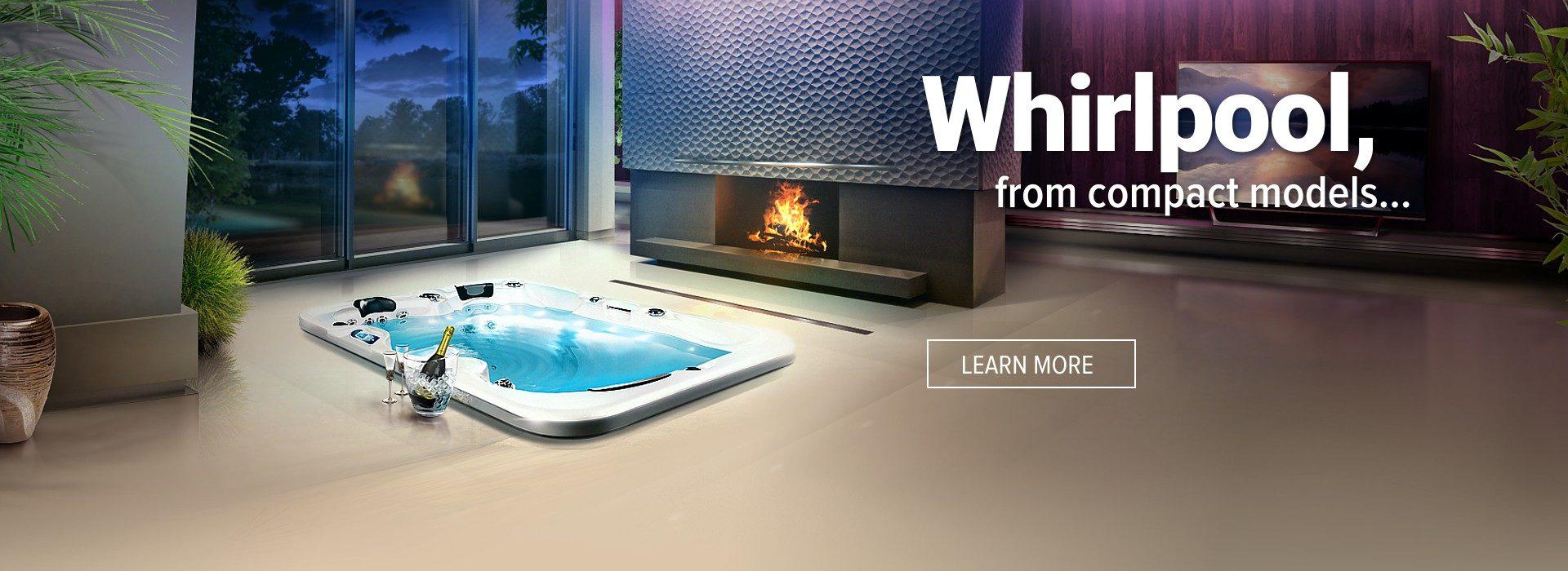 Whirlpool Canadian Spa International® - Outdoor jacuzzi, hot tubs and swim spa – Spa Studio