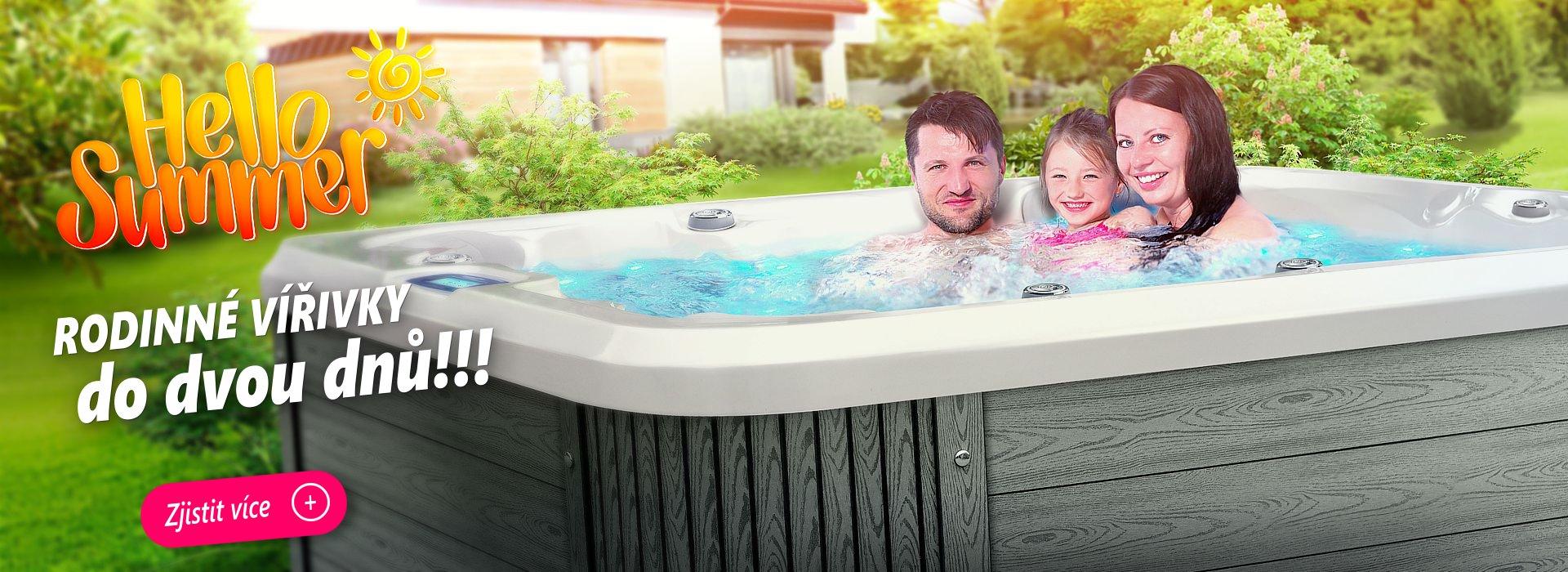 Spa Studio - Intímne rodinné vírivky Canadian spa International® - rodinný model Nemo