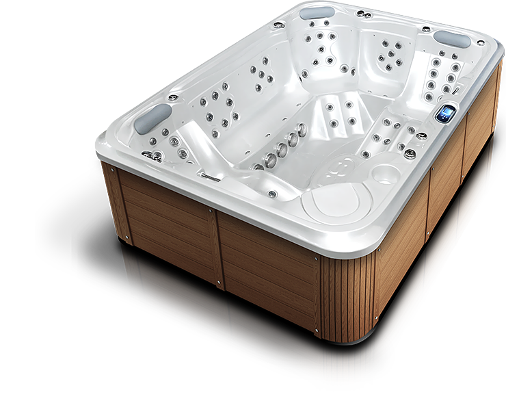 Whirlpool hot tub by Canadian Spa International®, Spa Studio Praha