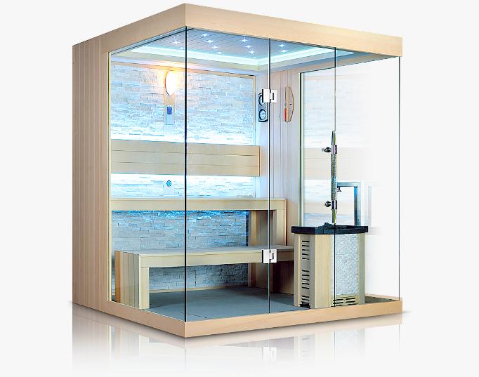 Designové finské sauny Spa Studio, showroom Praha 6